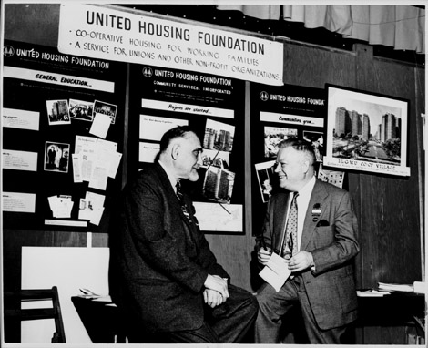 David Dubinsky and the United Housing Foundation