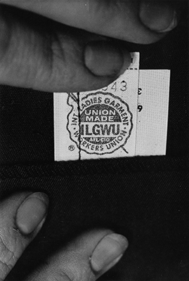 ILGWU union label