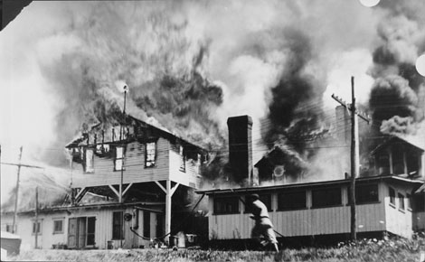 Fire at Unity House, 1969