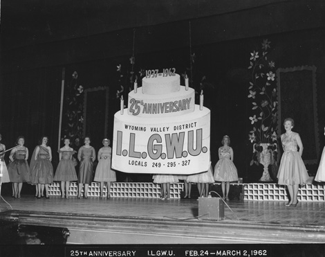 ILGWU Wyoming Valley District 25th Anniversary, Locals 249-295-327, March 2, 1962