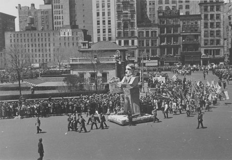 Labor Day Parade, New York, New York, 1937